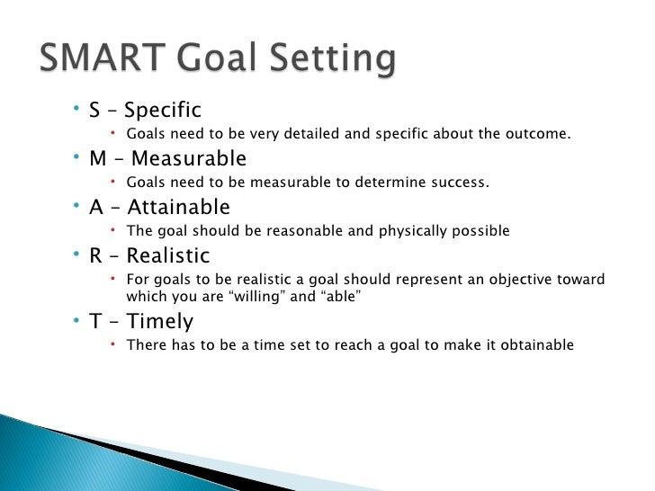 The Goals Workshop