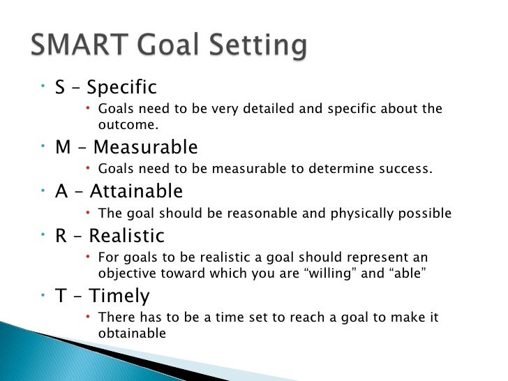 Smart Goals Fitness Examples – Guiler Workout