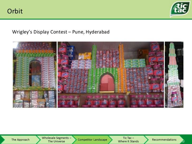 Orbit Wrigley's Display Contest – Pune, Hyderabad