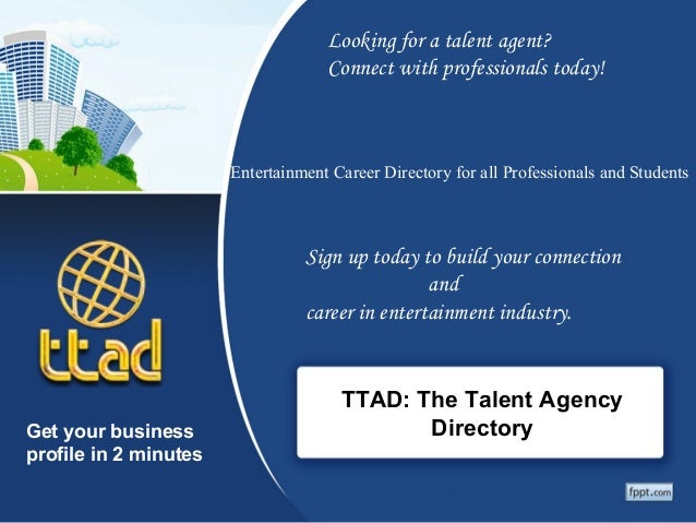 TTAD: The Talent Agency Directory