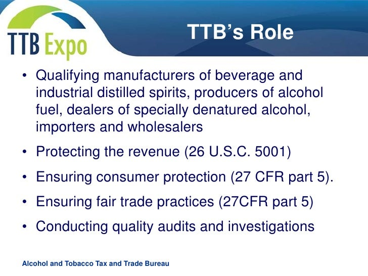 the roles and responsibilities of the bureau of alcohol tobacco and firearms Under title xi, subtitle b of the act, the ''authorities, functions, personnel, and  assets'' of the bureau of alcohol, tobacco, and firearms are.