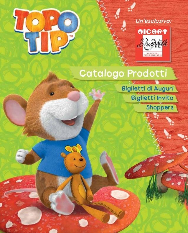 Catalogo topo tip for Topo tip giocattoli