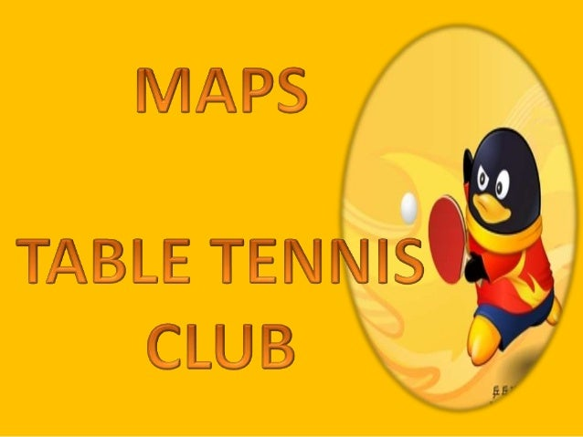 MAPS TABLE TENNIS CLUB