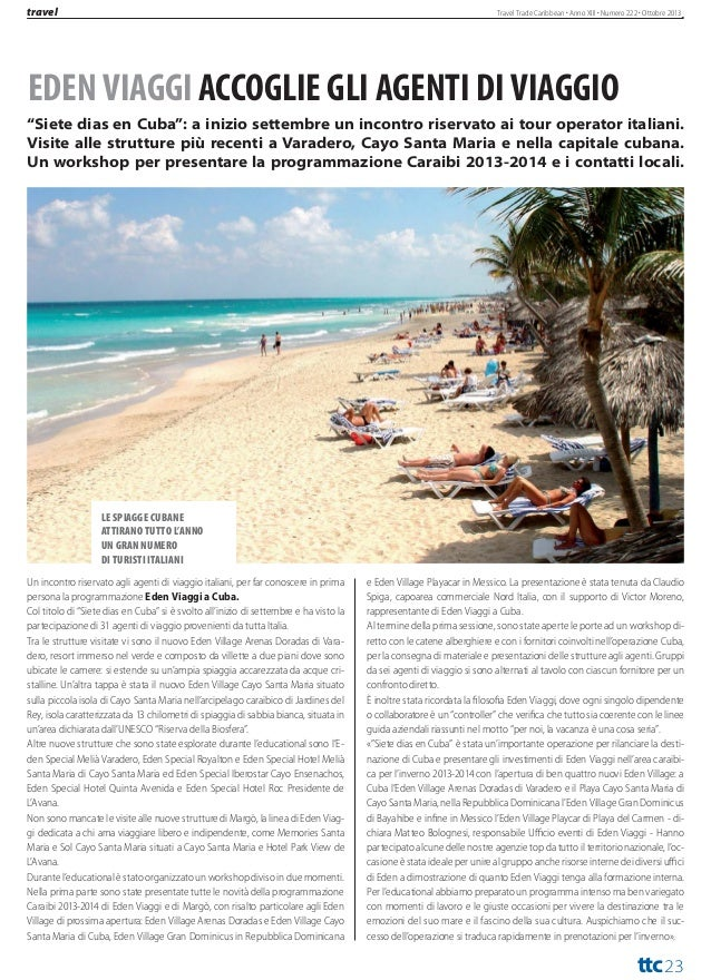 ttc  news  Travel Trade Caribbean  Via Balbo, 1 - 10023 Chieri (Torino) Italia Telefono +39 3938196638  La top ten dei cas...