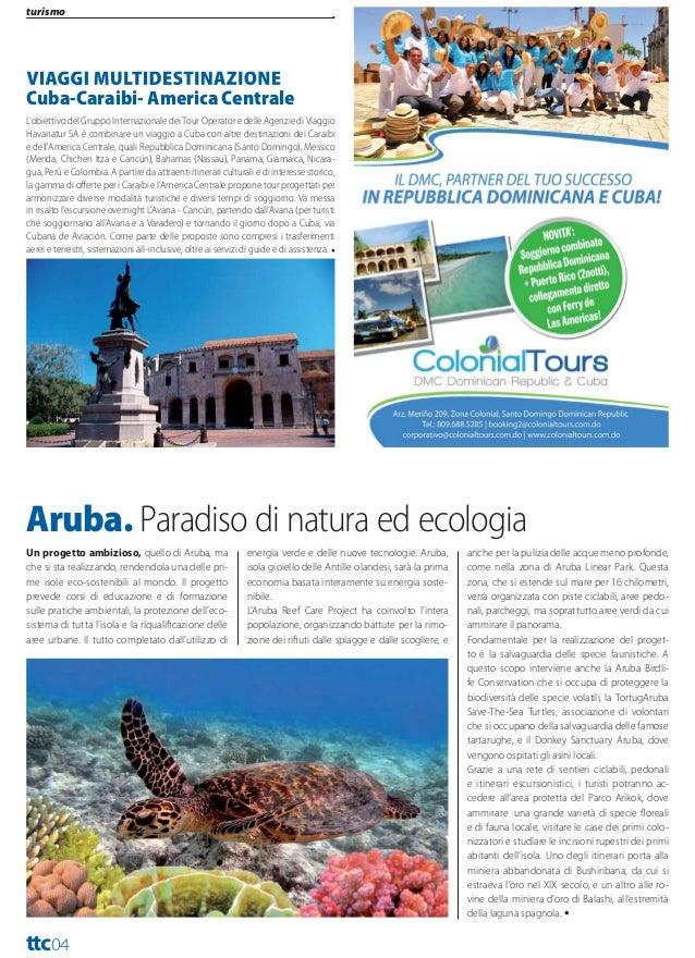 turismo  Travel Trade Caribbean Anno XIII Numero 222 Ottobre 2013  Dalla prossima stagione invernale una svolta positiva p...