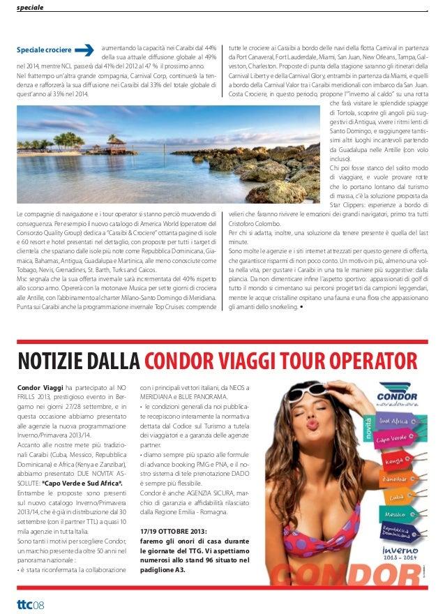 turismo  Travel Trade Caribbean Anno XIII Numero 222 Ottobre 2013  Nella Repubblica Dominicana cresce il turismo da Stati ...