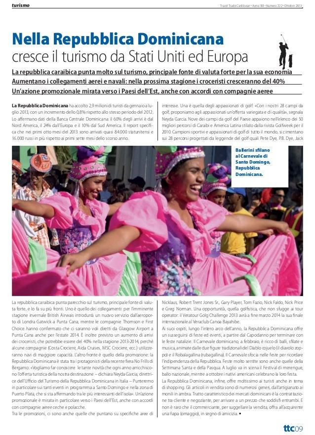 attualità  Travel Trade Caribbean Anno XIII Numero 222 Ottobre 2013  Molte novità del turismo cubano per la stagione inver...