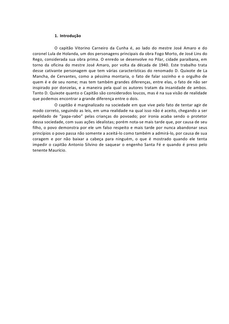 1. Introdução              O capitão Vitorino Carneiro da Cunha é, ao lado do mestre José Amaro e do coronel Lula de Holan...