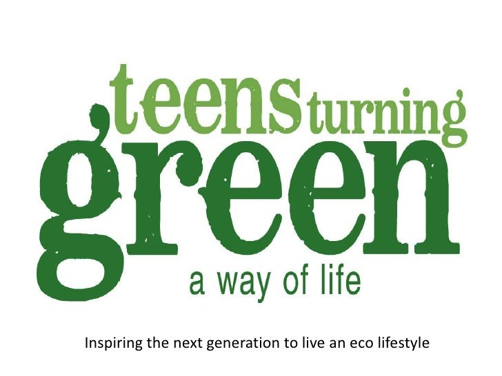 Inspiring the next generation to live an eco lifestyle