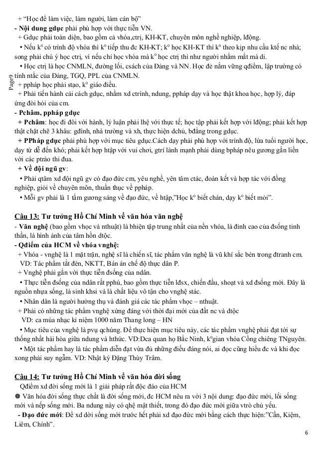 """Page9 + """"Học để làm việc, làm người, làm cán bộ"""" - Nội dung gdục phải phù hợp với thực tiễn VN. + Gdục phải toàn diện, bao..."""