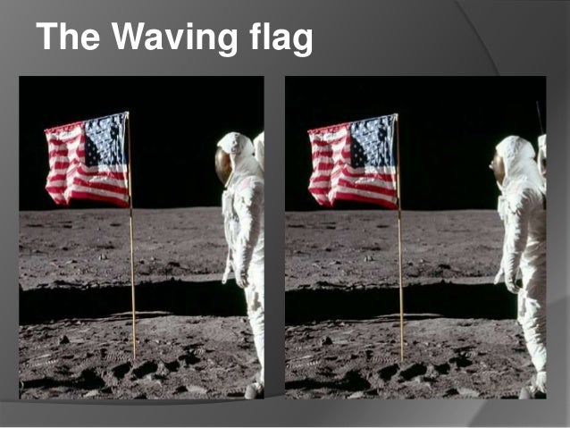 moon landing hoax flag - photo #17