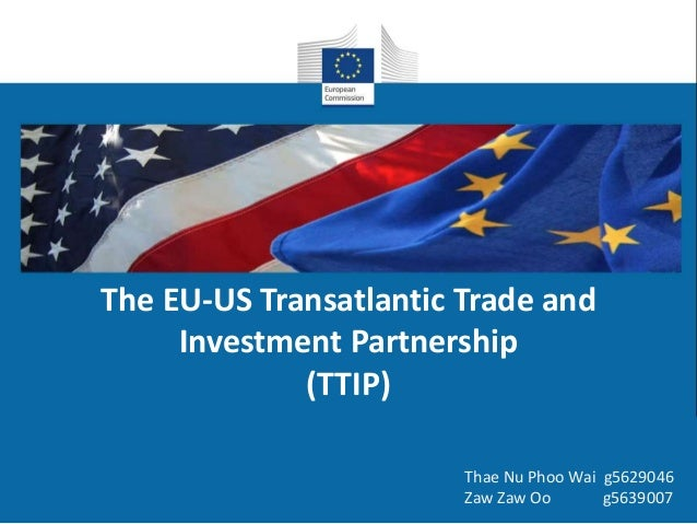 an overview of the transpacific partnership ttp the transatlantic trade and investment partnership t If you're just now hearing about the trans-pacific partnership, don't worry: that makes it roughly the same size as the trans-atlantic trade and investment partnership so the big country not in the tpp is.