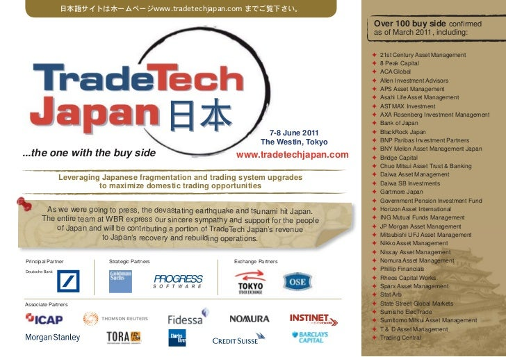 日本語サイトはホームページwww.tradetechjapan.com までご覧下さい。                                                                              ...