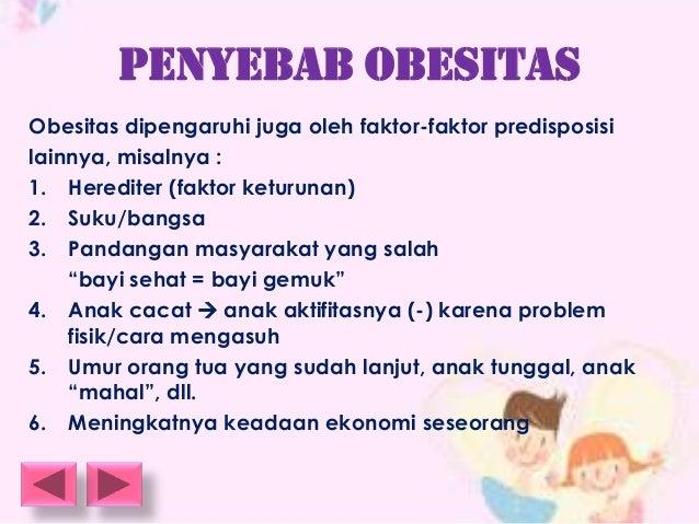 Penyebab Obesitas dan Pencegahannya Pada Anak-Anak