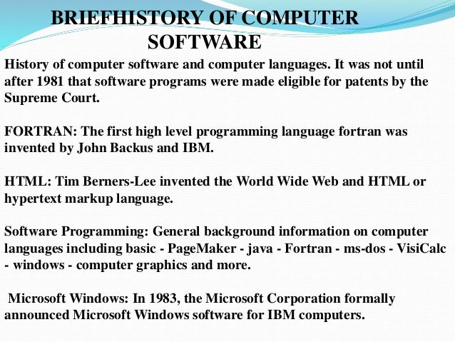 essay history java which modern computer programming langu Before java emerged as a programming language, c++ was the dominant player in the trade the primary goal of the creators of java was to create a language that could tackle most of the things that c++ offered while getting rid of some of the more tedious tasks that came with the earlier languages.