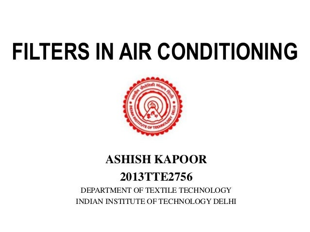 filters in air conditioning