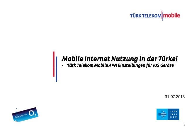TITLE COMES HERE DATE 1 31.07.2013 Mobile Internet Nutzung in der TürkeiMobile Internet Nutzung in der TürkeiMobile Intern...