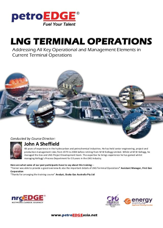 Pd185 Lng Terminal Operations