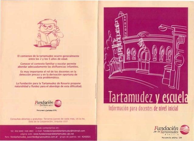 Tartamudez y Escuela