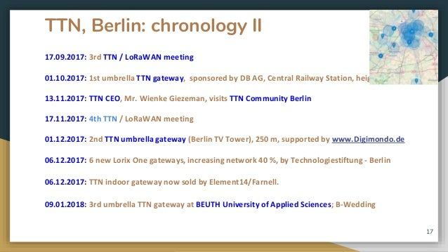 TTN Community Berlin - The IoT Network for all