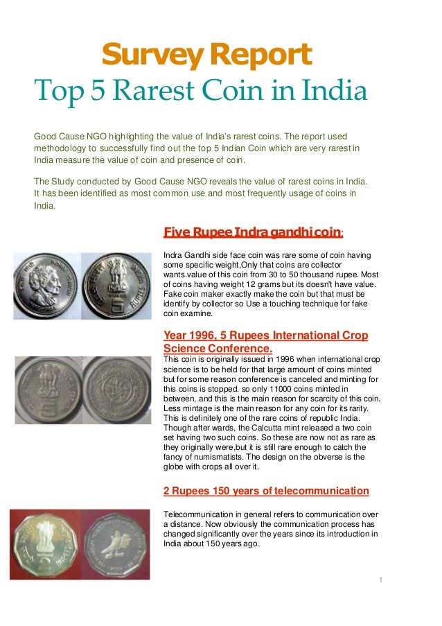 Top 5 rarest coin in India/Antique Collection