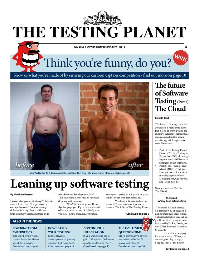 £5 By Seth Eliot The future of testing cannot be covered in a mere three parts. But a look at software and the industry in...