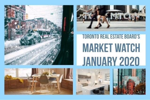 2/13/2020 TREBHome - Market Watch www.trebhome.com/index.php/market-news/market-watch 1/1 GTA REALTORS® Release January 20...