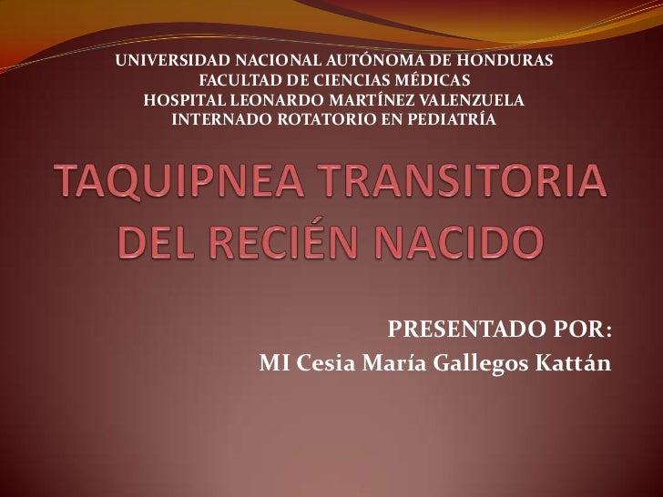 UNIVERSIDAD NACIONAL AUTÓNOMA DE HONDURAS<br />FACULTAD DE CIENCIAS MÉDICAS<br />HOSPITAL LEONARDO MARTÍNEZ VALENZUELA<br ...