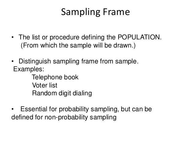 what is sampling in research pdf