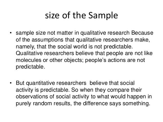 sampling in research methodology. qualitative and quantitative approa…