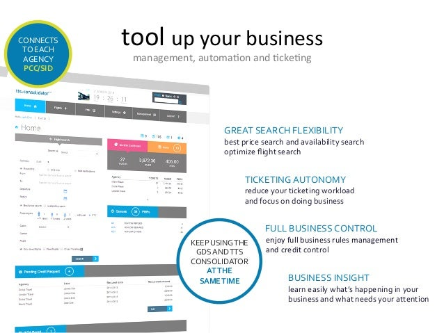 tool  up  your  business   management,  automa7on  and  7cke7ng   GREAT  SEARCH  FLEXIBILITY   best...