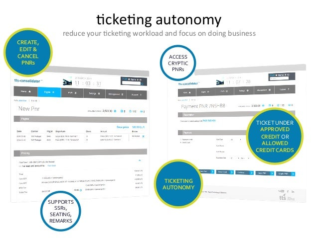 7cke7ng  autonomy   reduce  your  7cke7ng  workload  and  focus  on  doing  business   TICKETING  ...