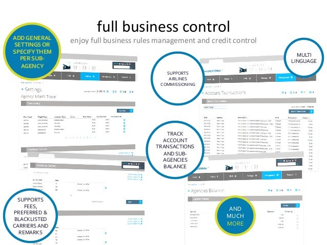 full  business  control   enjoy  full  business  rules  management  and  credit  control  ADD  GEN...