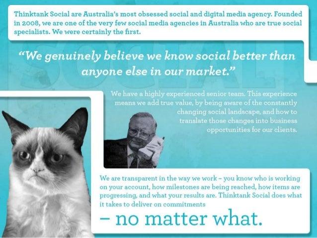 Thinktank Social Credentials