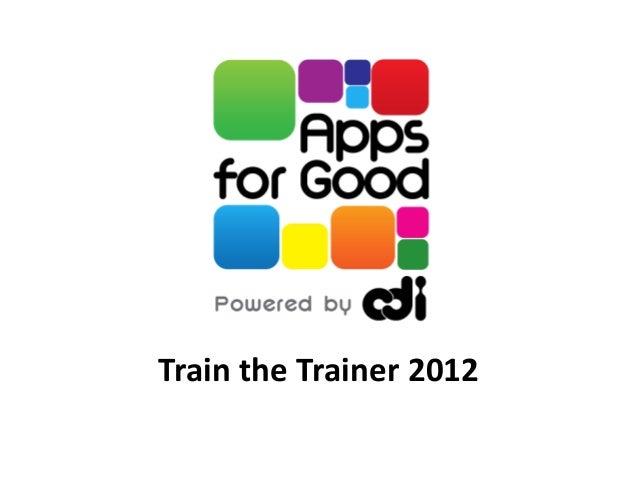 Train the Trainer 2012