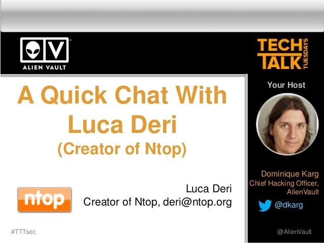 How to Improve Network Security with nDPI by Ntop - Tech Talk Tuesday