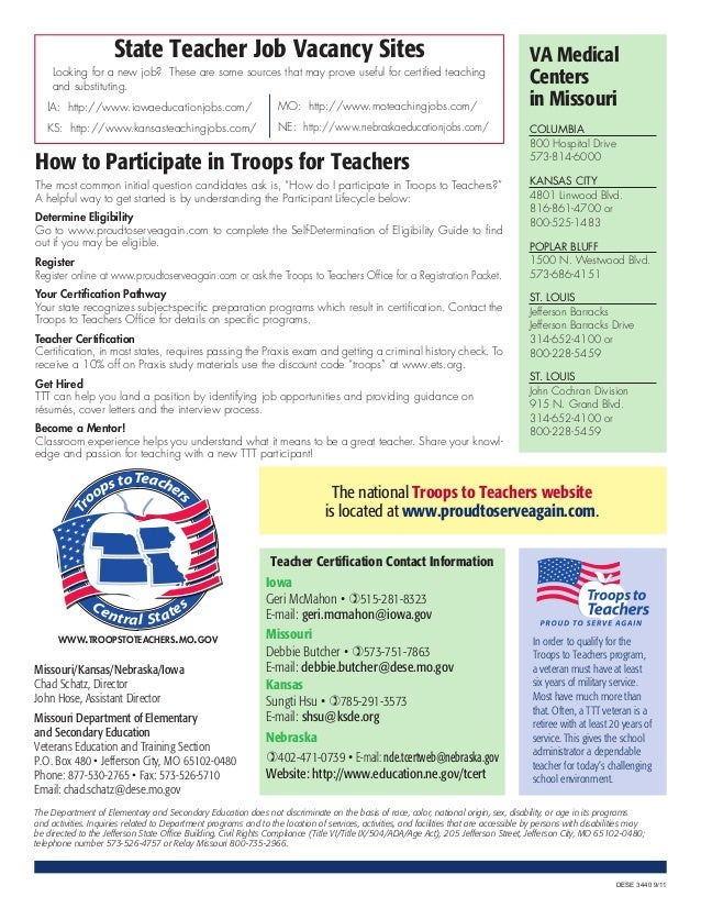 State Teacher Job Vacancy Sites                                                                                   VA Medic...