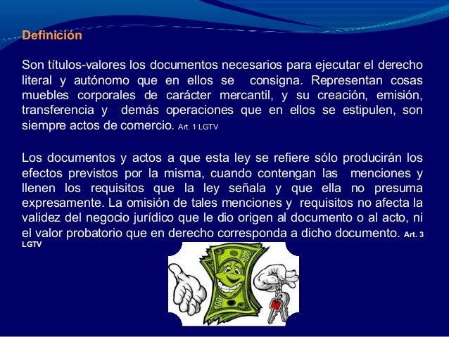 Los Titulos Valores Segun La Norma Juridica Nicaraguense (Parte 2) Slide 2