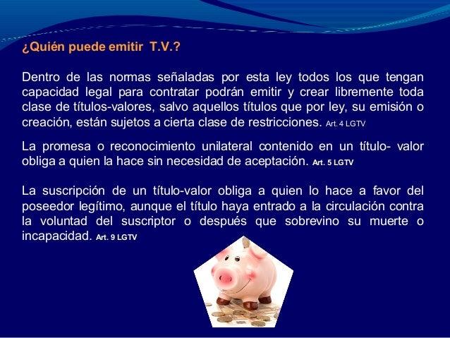 Los Titulos Valores Segun La Norma Juridica Nicaraguense (Parte 2) Slide 3