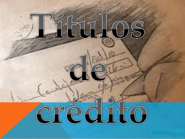 CONCEPTO El artículo 5° de la LEY GENERAL DE TÍTULOS Y OPERACIONES DE CRÉDITO Son títulos de crédito los documentos necesa...