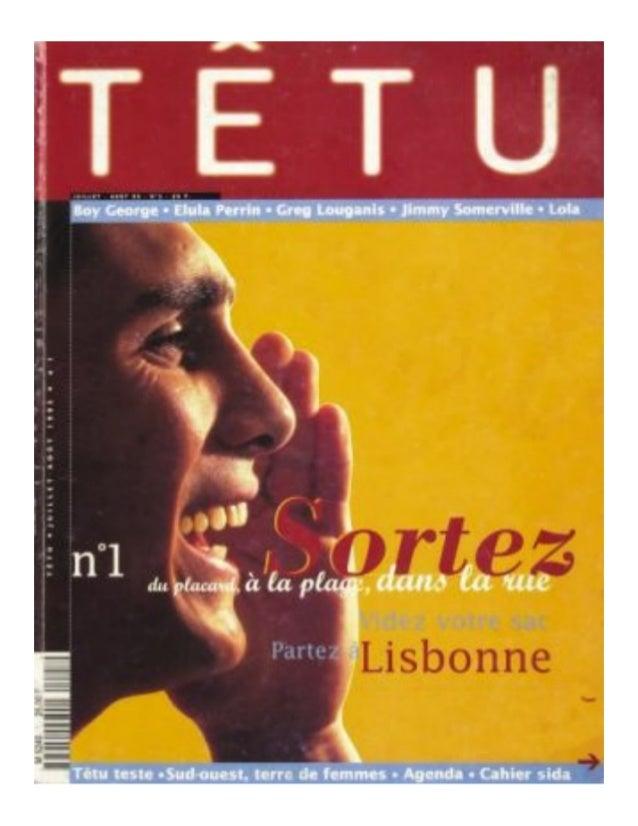 Têtu quelques couvertures - Jean-Louis Roux-Fouillet