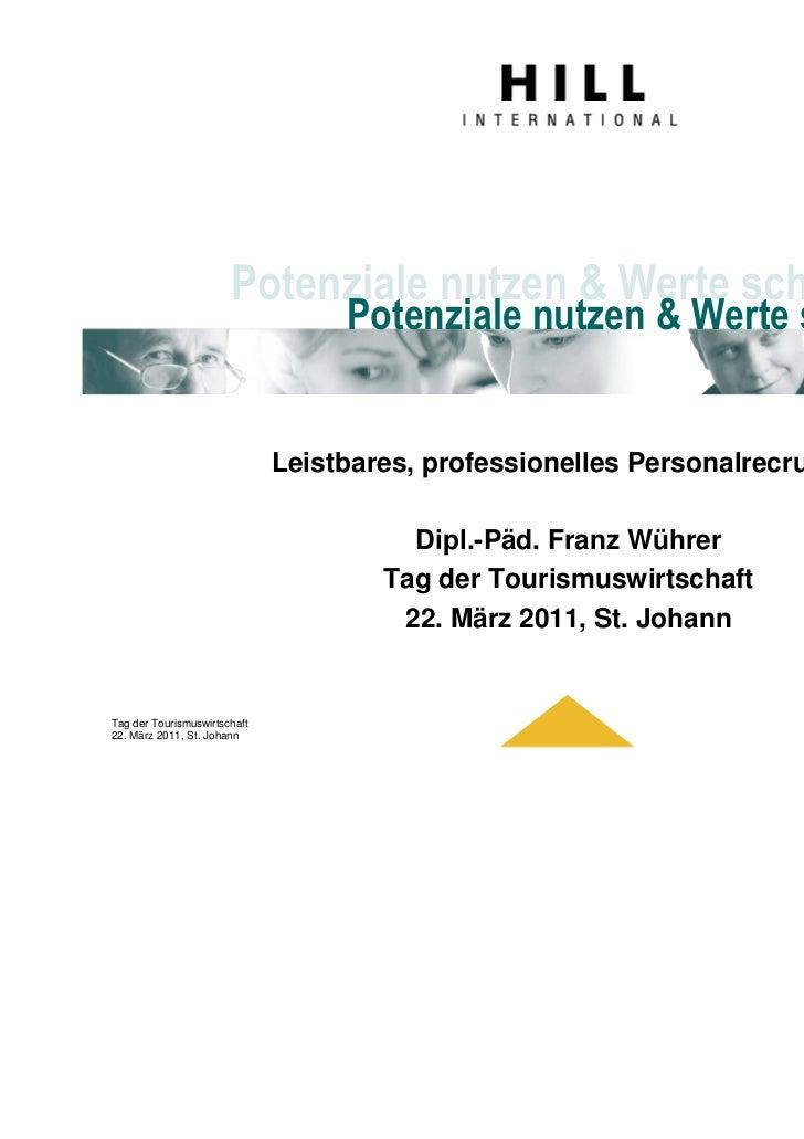 Potenziale nutzen & Werte schaffen                                   Potenziale nutzen & Werte schaffen                   ...