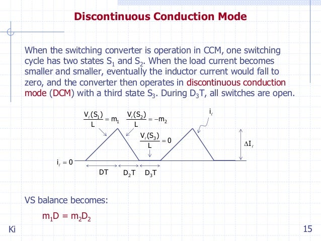 Discontinuous Conduction Mode Buck Ringing