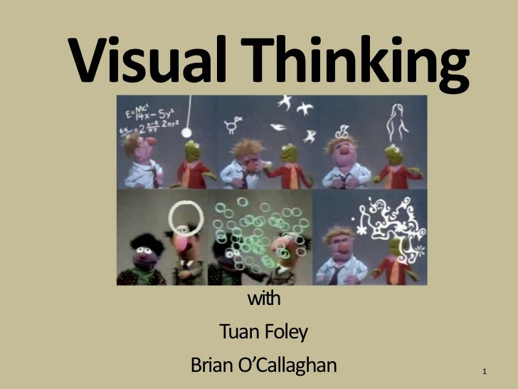 Visual Thinking<br />with<br />Tuan Foley<br />Brian O'Callaghan<br />1<br />