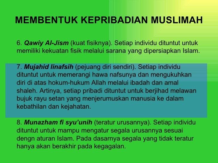 Kepribadian Muslimah