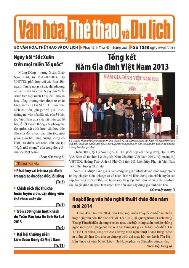 bộ văn hóa, thể thao và du lịch  Mừng Đảng, mừng Xuân Giáp Ngọ 2014, từ 15-17/02/2014, Bộ VHTTDL phối hợp với các Ban, Bộ,...