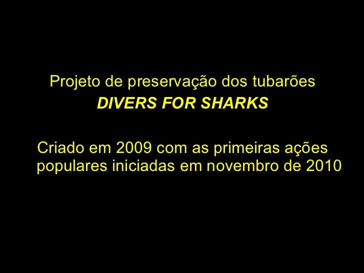 Divers for Sharks Tubarões no Limite Slide 2