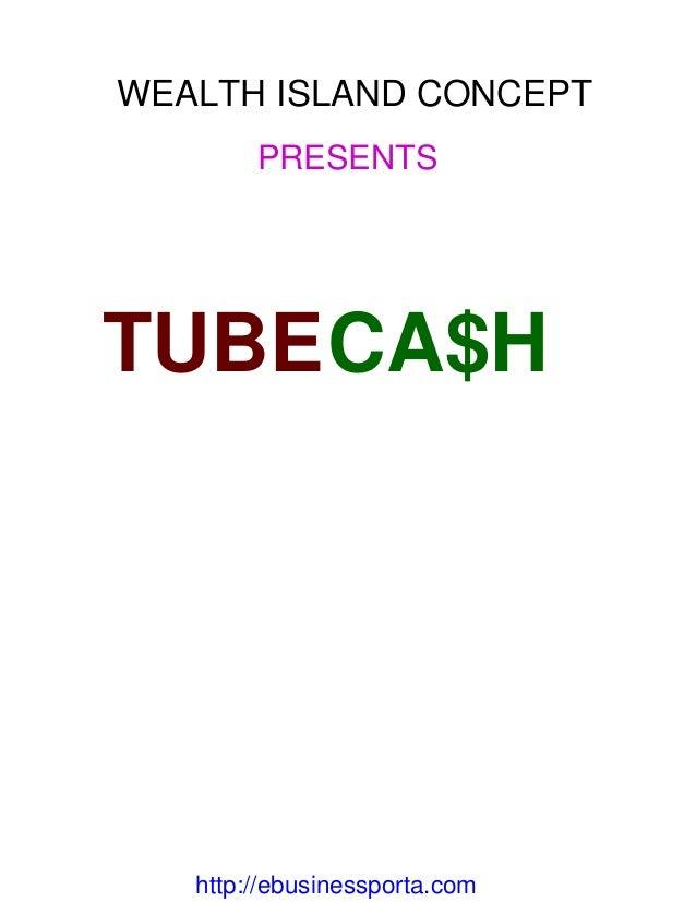 money cash tube