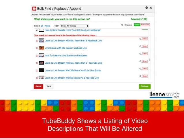 Simple YouTube Hack For Updating Your Descriptions in Bulk