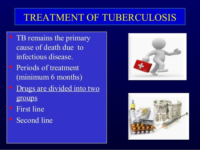 Basic concepts in treatment of Pulmonary Tuberculosis - By